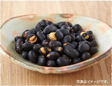 煎り丹波産黒豆